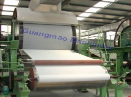 2400mm 8-10 tons/day Tissue Paper Making Machinery Production Line For Waste Paper Recycling Plant