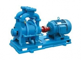 Water recycling vacuum pump