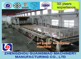 2400mm 30TPD A4 Copy Writing Printing Paper Making Machine