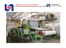 2880mm tissue paper machine, jumbo toilet paper roll machine