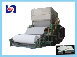 5-6 tons per day 1880mm tissue toilet paper machine, kitchen towel manufacturing machines for sale