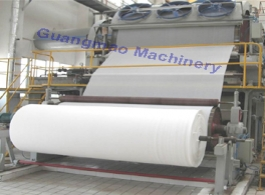 Large 2400mm crescent former facial tissue paper making machine, paper straw making machines, home paper recycling project