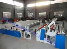 High quality low cost toilet paper rewinding machine paper converting equipment for sale